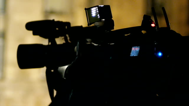cameraman televisiva - film industry video stock e b–roll