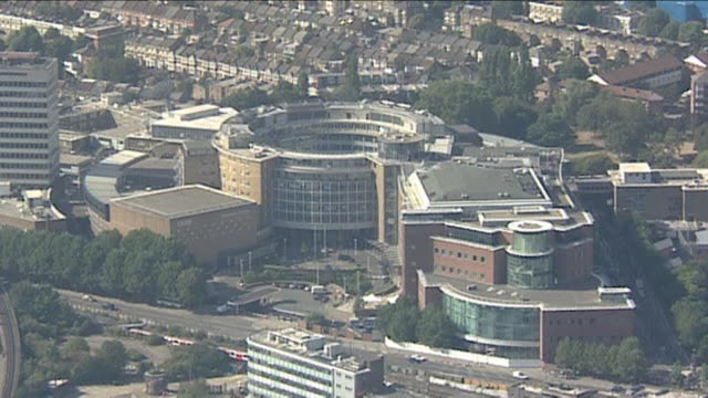 stockvideo's en b-roll-footage met television centre in white city london available in hd. - bbc