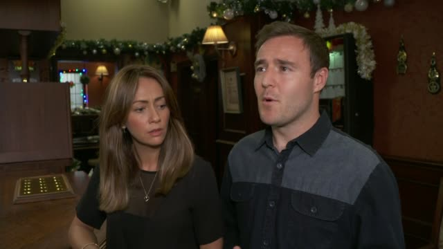'Coronation Street' actor Liz Dawn dies Granada Studios INT 'Coronation Street' actor Alan Halsall interview SOT