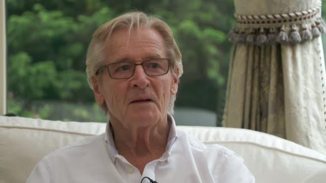 'Coronation Street' William Roache interview ENGLAND INT Bill Roache interview SOT re Liz Dawn death