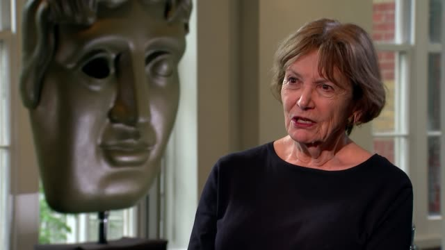 dame joan bakewell to be given bafta fellowship; england: london: int dame joan bakewell interview sot. - joan bakewell stock videos & royalty-free footage