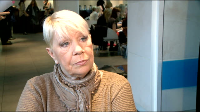 'dancing on ice 2012' launch celebrity interviews laila morse interview sot on a bad accident she suffered and now she's in agony on how training is... - tv interview stock videos and b-roll footage