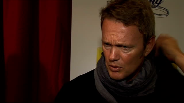 'dancing on ice' preview celebrity contestant interviews craig mclachlan interview sot on why he has entered the show / at the moment he is busy with... - i'm a celebrity... get me out of here stock videos & royalty-free footage