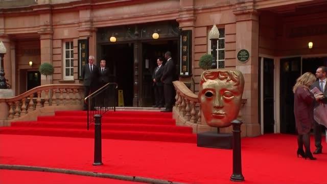 Downton Abbey recieves special BAFTA award Red carpet interviews ENGLAND London Richmond Theatre EXT 'Richmond Theatre Bafta Celebrates Downton Abbey...