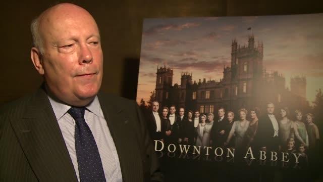 Downton Abbey series 6 launch Julian Fellows interview SOT