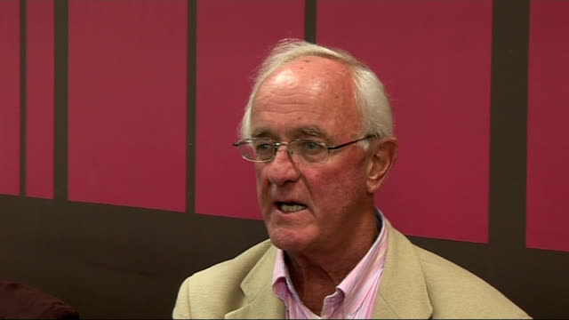 emmerdale cast interviews frank kelly interview sot on his role as father jack in 'father ted' describes the audition for father jack / his new... - ソープオペラ点の映像素材/bロール