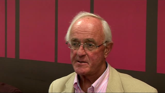 emmerdale cast interviews frank kelly interview sot on meeting other emmerdale cast members / happy place to work / his wife made him watch emmerdale... - reality tv stock videos and b-roll footage