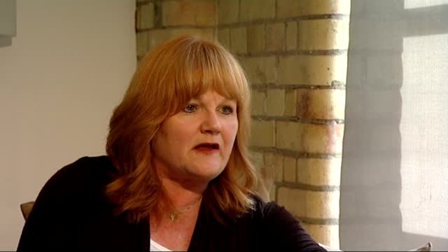 emmy awards 2011 lesley nicol interview on 'downton abbey' england london int lesley nicol interview sot [whats your reaction to your emmy win] it's... - emmy awards stock videos and b-roll footage