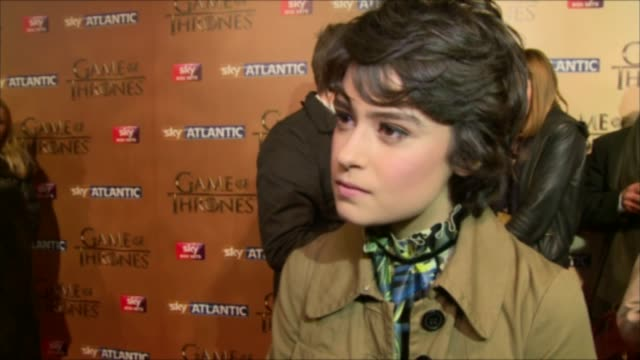 'Game of Thrones' season 5 launch Alfie Allen speaking to press SOT / Rosabell Laurenti Sellers interview SOT / Alfie Allen interview SOT / Iwan...