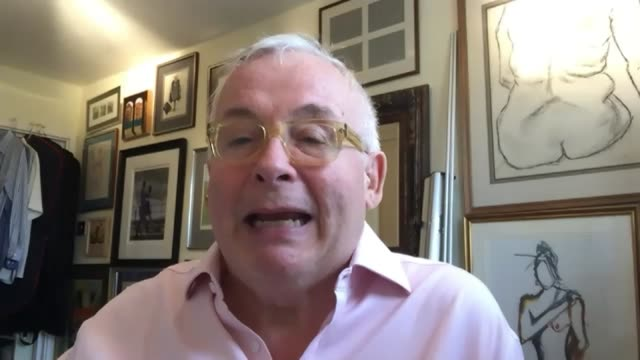 'i'm a celebrity get me out of here' to be set at gwrych castle in wales england int christopher biggins interview via internet sot london gir... - i'm a celebrity... get me out of here stock videos & royalty-free footage