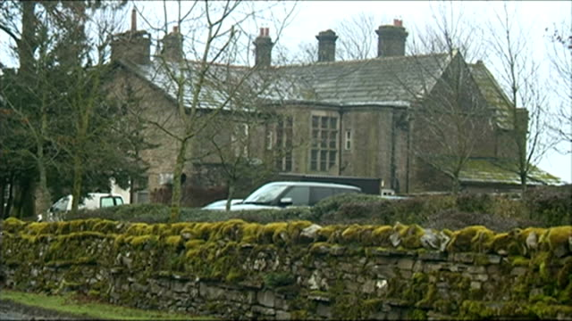 jeremy clarkson 'rant' as he awaits decision from bbc over 'fracas' incident lib yorkshire various shots of simonstone hall country house hotel - jeremy clarkson stock-videos und b-roll-filmmaterial