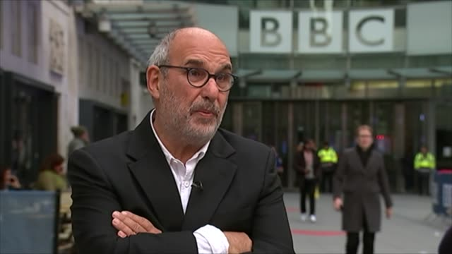 jeremy clarkson sacked by bbc england london bbc broadcasting house ext alan yentob interview sot - jeremy clarkson stock-videos und b-roll-filmmaterial