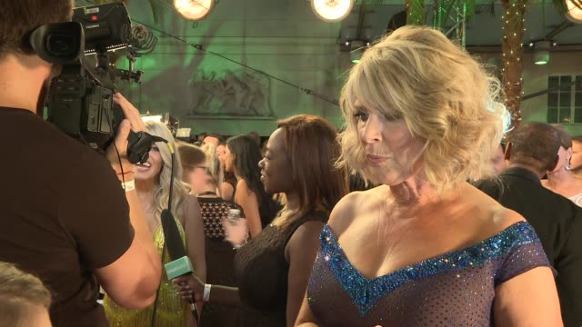 Launch of new series of 'Strictly Come Dancing' interviews Joe McFadden interview SOT Ruth Langsford interview SOT Chizzy Akudolu interview SOT...