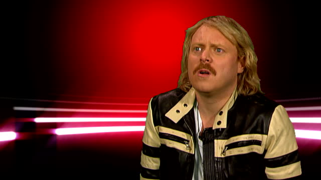leigh francis interview england london int leigh francis interview sot how he's loving this series of celebrity juice fearne cotton getting married... - jedward stock videos and b-roll footage