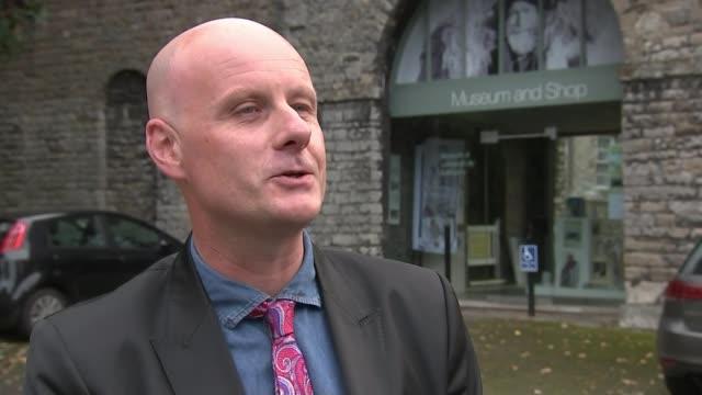 television / literature: children's writer john cunliffe dies; england: cumbria: ext dickie felton interview sot - literature stock videos & royalty-free footage