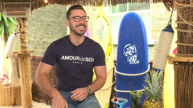 love island 2018 alex miller interview england int alex miller interview sot [how has life been since the island] people don't recognise him as much... - cut video transition stock videos & royalty-free footage