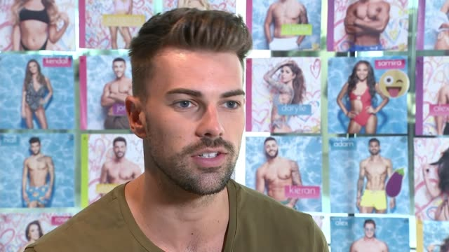 'love island 2018': dani dyer and jack fincham expected to win reality tv show; england: int sam bird interview sot - リアリティー番組点の映像素材/bロール