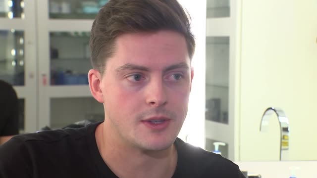 'love island' star mike thalassitis death raises questions about contestant welfare; england: london: int dr alex george set up shot with reporter /... - mike love stock videos & royalty-free footage