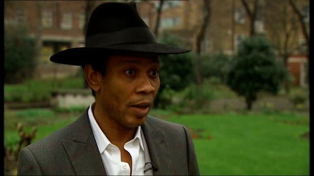 'midsomer murders' race row; wilfred emmanuel-jones interview sot - think tv executives have responsibility to have ethnic minorities in their... - responsibility stock videos & royalty-free footage