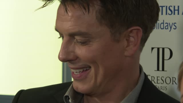 national television awards 2019 red carpet and winner's room interviews england london greenwich the o2 arena int john barrowman arriving and... - john barrowman stock videos and b-roll footage