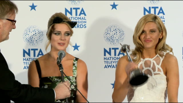 national television awards england london int ashley roberts and helen flanagan photocall / ashley roberts and helen flanagan interviews sot on... - i'm a celebrity... get me out of here stock videos & royalty-free footage