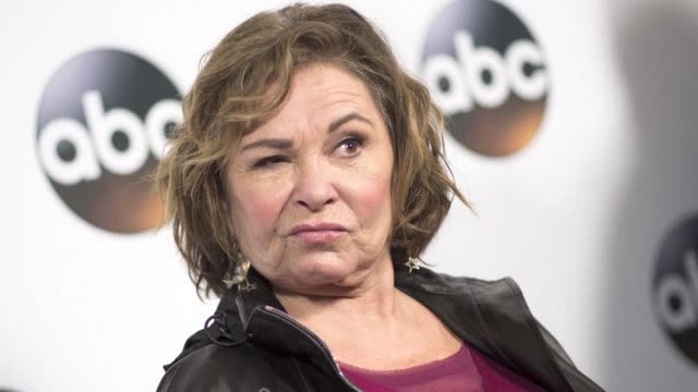us television network abc has announced it is canceling roseanne barr's hit comedy roseanne over a joke she made on twitter that was widely decried... - roseanne barr stock videos & royalty-free footage