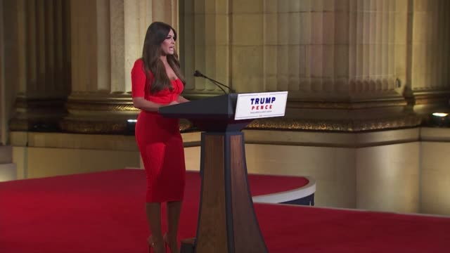 television personality kimberly guilfoyle says in remarks to the 2020 republican national convention that rioters must not be allowed to destroy... - land feature stock videos & royalty-free footage