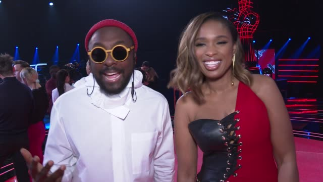 'The Voice UK' finals red carpet preview UK London The Voice UK 2019 finals press event red carpet arrivals and interviews ENGLAND London INT...