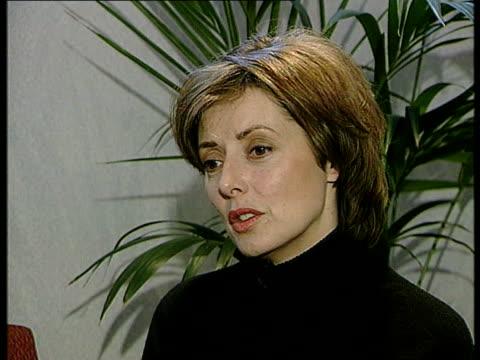 television presenter jill dando murdered; england: london: ext jennie bond interview sot - she was thoroughly nice and decent int carol vorderman... - carol vorderman stock videos & royalty-free footage