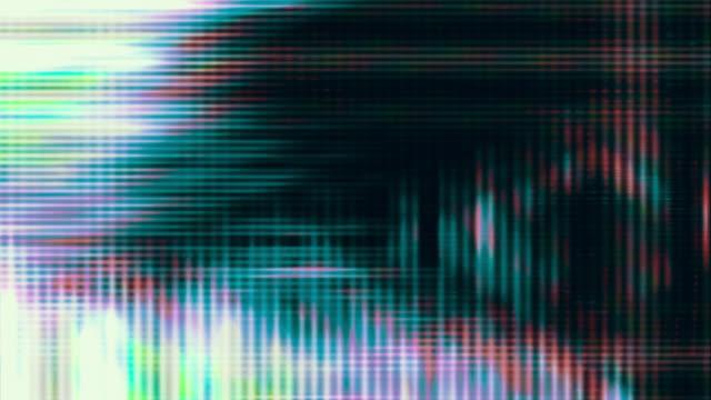 Television screen pixels (Loop).