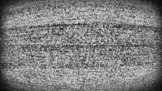 television static noise signal screen