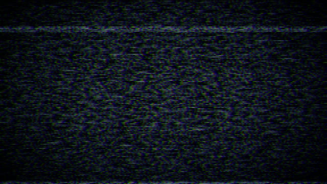 television static with sound - distorted stock videos & royalty-free footage