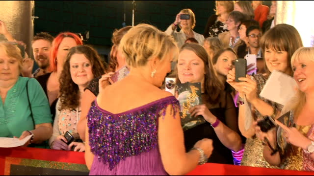 'Strictly Come Dancing' 2012 launch Brendan Cole interview SOT Fern Britton along to crowd / Cole Chigvintsev and James Jordan / Kimberley Walsh...