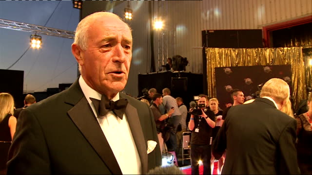 'Strictly Come Dancing' 2013 launch Len Goodman posing and interview SOT / Bussell hugging Riley and posing / Darcey Bussell interview SOT / Bruno...