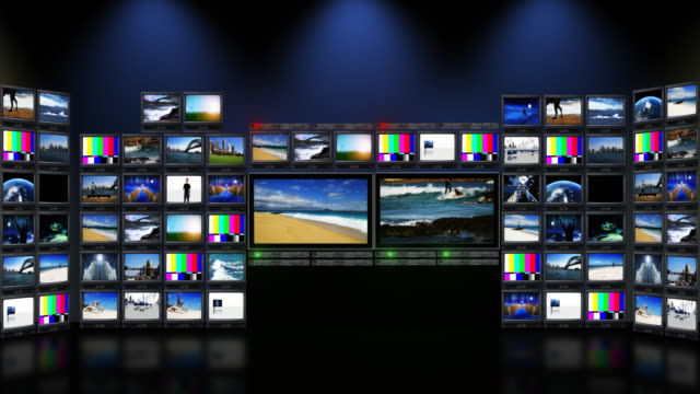 television studio - press conference stock videos & royalty-free footage