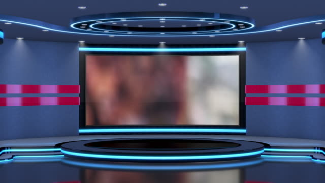 television studio, virtual studio set. ideal for green screen compositing. tracking markers provided for movement and screen replacement. - architectural column stock videos & royalty-free footage