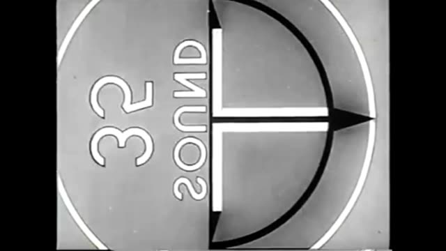 vídeos de stock e filmes b-roll de 1959 television test pattern and countdown - classificados