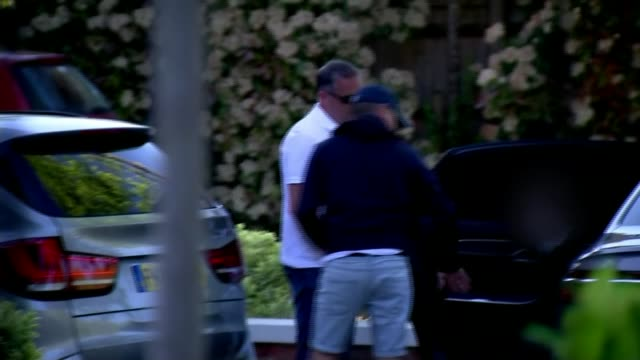'The Jeremy Kyle Show' axed / MPs launch investigation into reality TV ENGLAND EXT Press cameraperson taking photograph of Jeremy Kyle through car...
