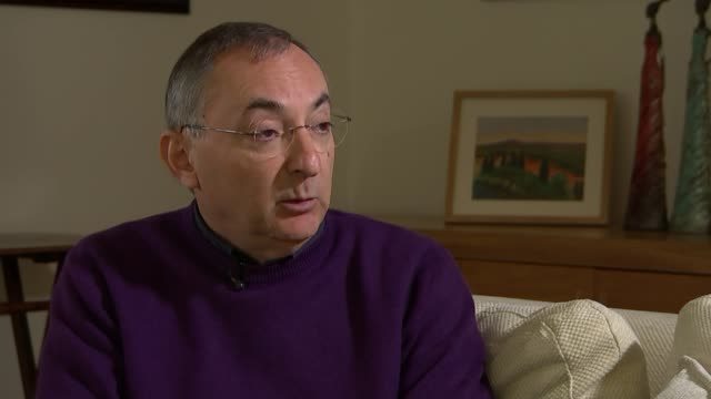 'The State' Peter Kosminsky interview ENGLAND London INT Peter Kosminsky interview SOT re new TV series 'The State' based on British Islamic State...