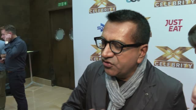 'the x factor: celebrity' launch; england: london: the mayfair hotel: int martin bashir interview sot - martin bashir stock videos & royalty-free footage
