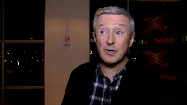 The X Factor prefinal interviews Louis Walsh interview SOT On having two acts / On Saturday night predictions / On the duets / On Luke Friend and...