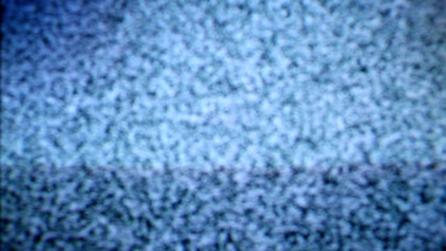 Television with noise on screen