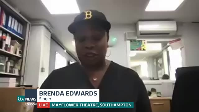 factor': itv has no plans for another series of show; england: london: gir: int brenda edwards live 2-way interview from mayflower theatre,... - news not politics stock videos & royalty-free footage