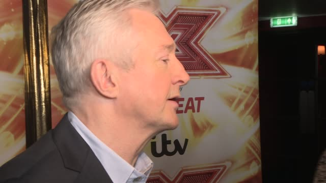 X Factor launch interviews ENGLAND London INT Louis Walsh speaking to media and interview SOT