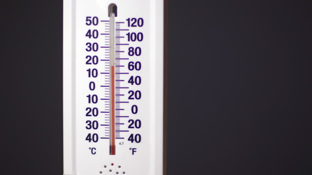 temperature on thermometer falls quickly - thermometer stock videos & royalty-free footage