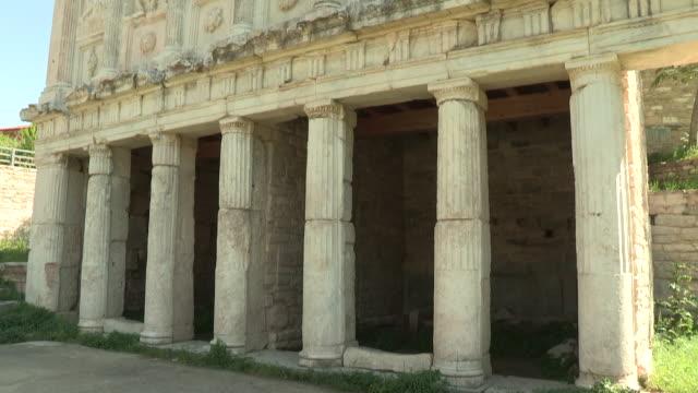 Temple Facade, Aphrodisias, Turkey
