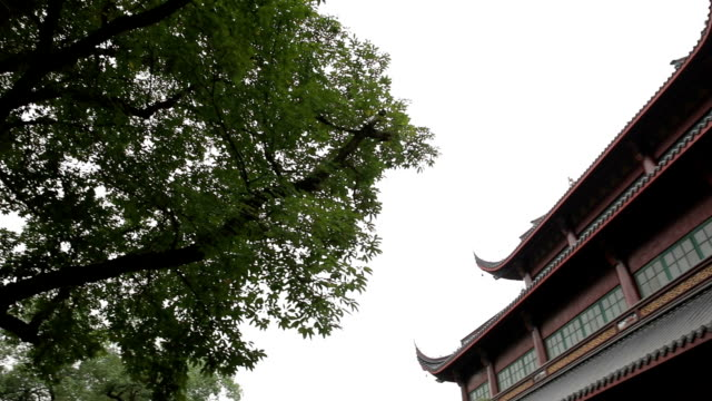 temple in hangzhou,china - chan buddhism stock videos & royalty-free footage