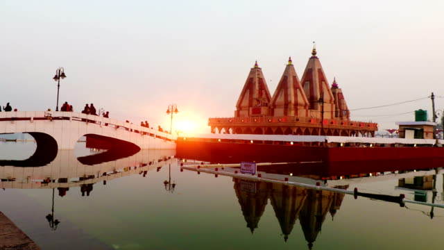 temple in kurukshetra - monument stock videos & royalty-free footage