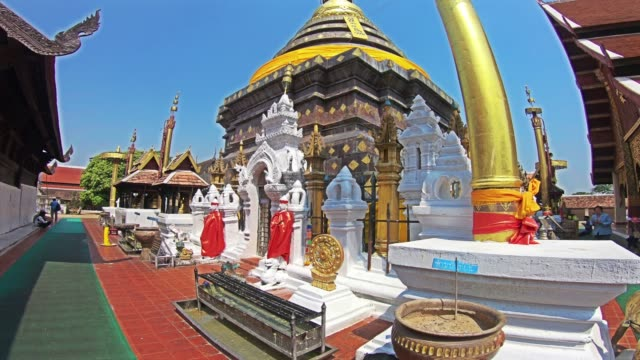 temple in thailand - theravada stock videos & royalty-free footage