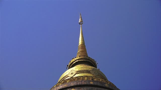 temple in thailand - pagoda stock videos and b-roll footage
